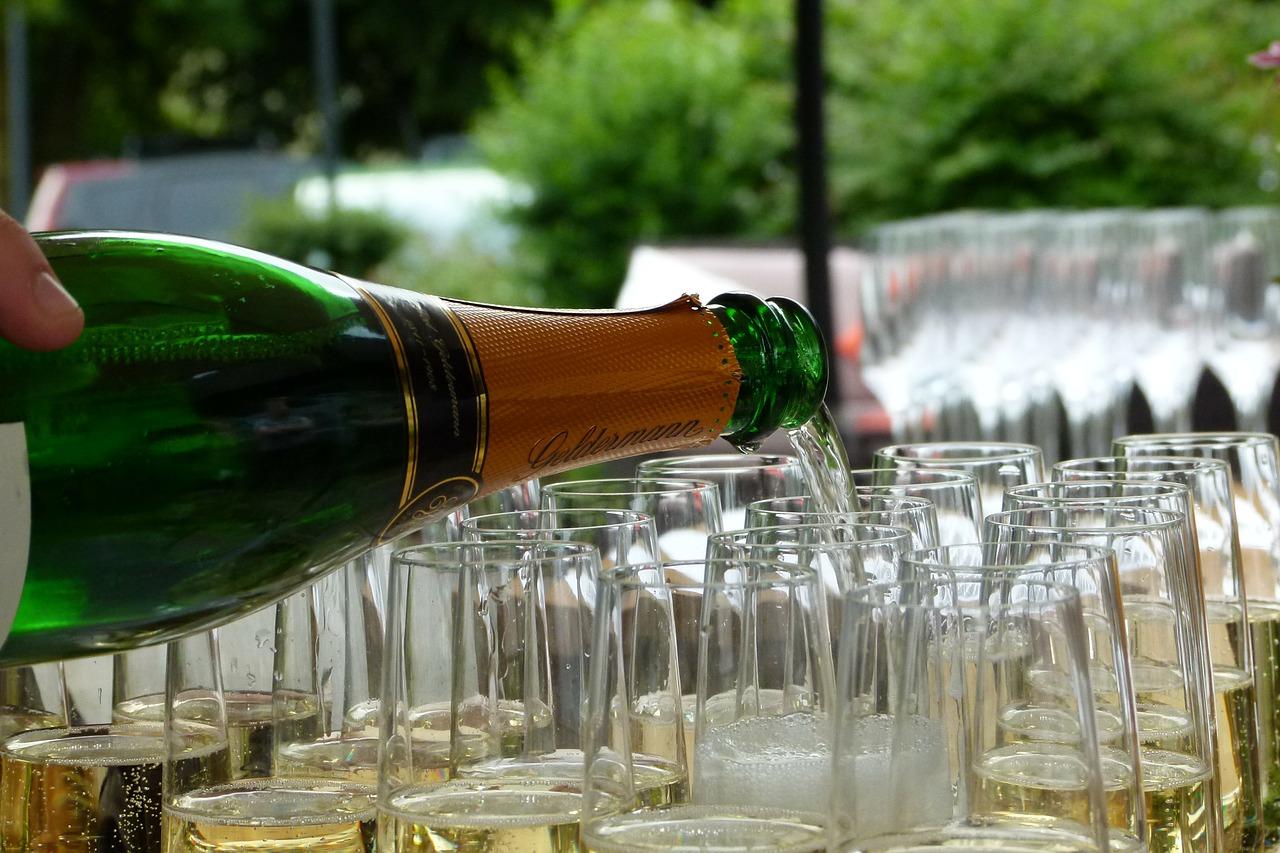 La flûte de champagne
